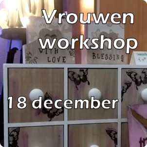 Vrouwen workshop 18 december